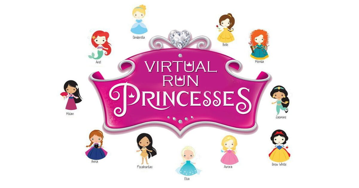 Logo of Princesses Virtual Run 2020