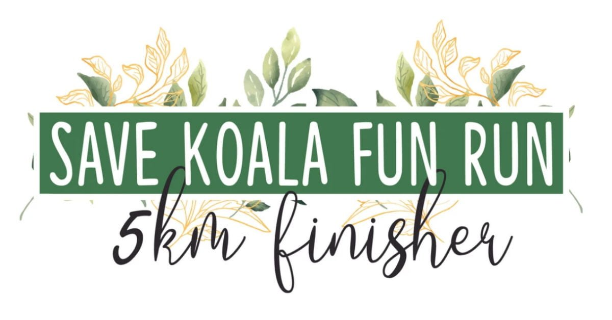 Logo of Save Koala Virtual Run 2020