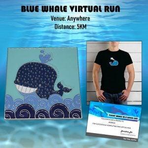 Blue Whale Virtual Run 2020
