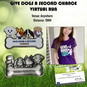 Give the Dogs a Second Chance Virtual Run 2020