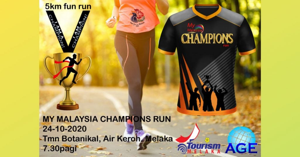My Malaysia Champions Run Melaka