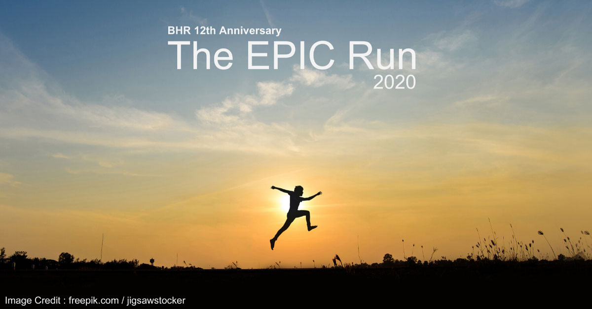 Logo of The Epic Run 2020 – Virtual