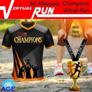 My Malaysia Champions Virtual Run 2020