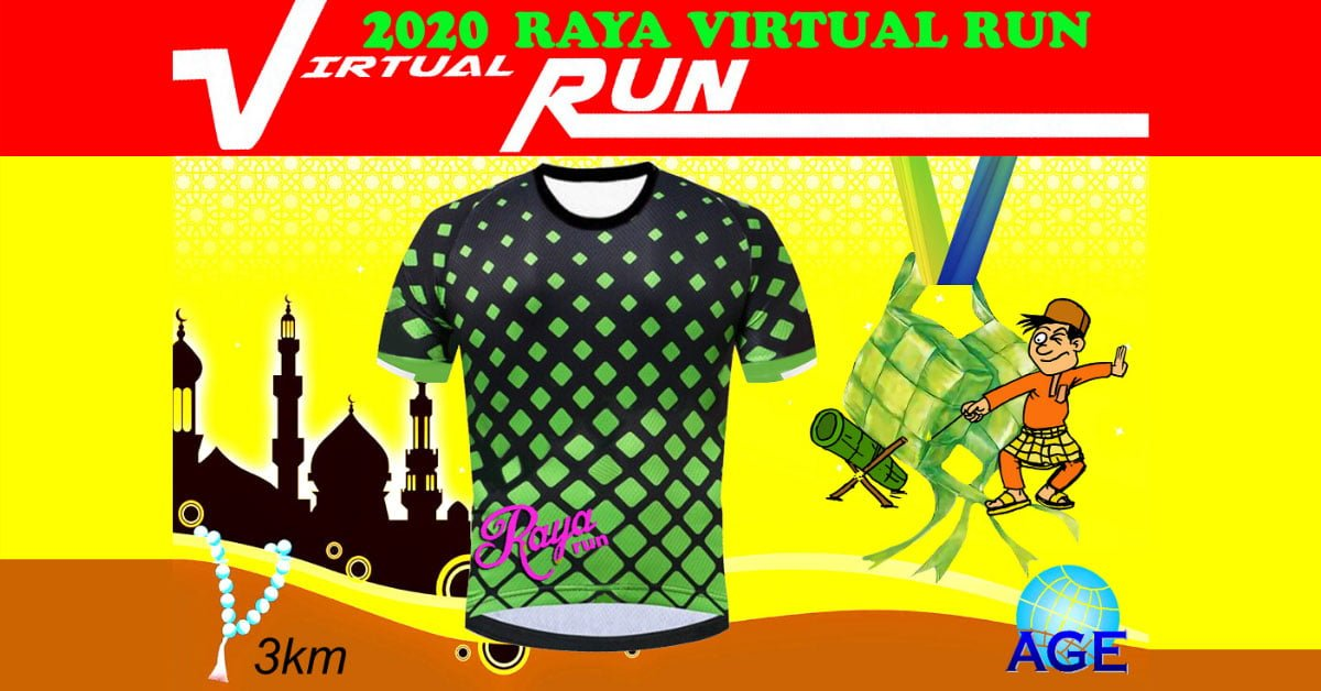 Logo of Raya Virtual Run 2020