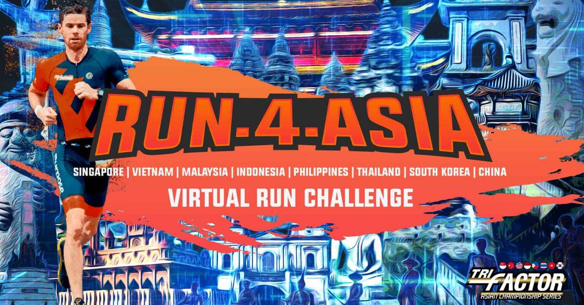 Logo of Run-4-Asia Virtual Run Challenge 2020