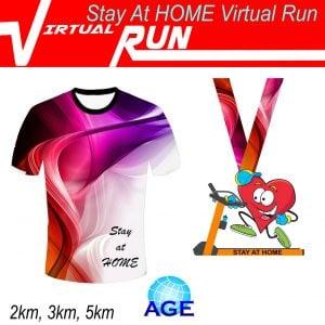 Stay At Home Virtual Run 2020