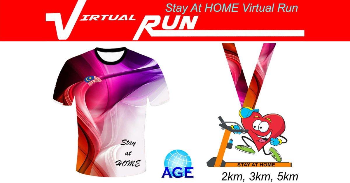 Logo of Stay At Home Virtual Run 2020