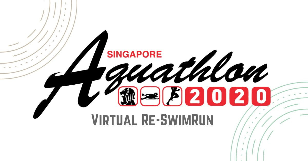 Logo of Singapore Aquathlon 2020 Virtual Re-SwimRun