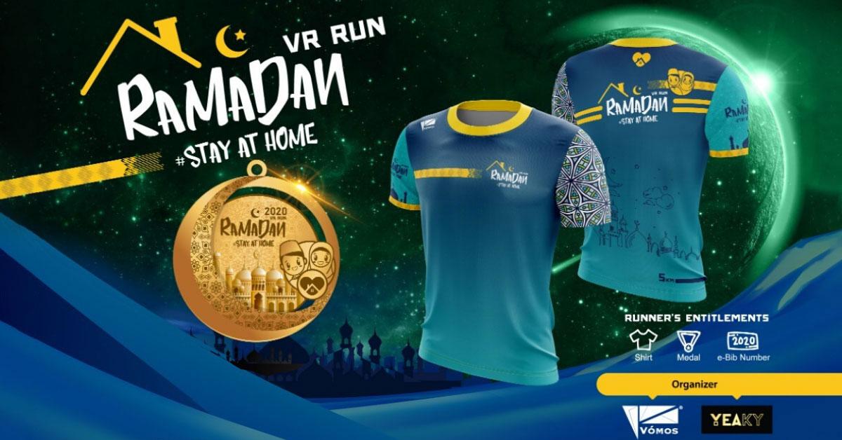 Logo of Ramadan Virtual Run 2020