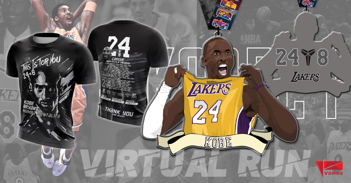 Logo of Run For Kobe Virtual Run 2020