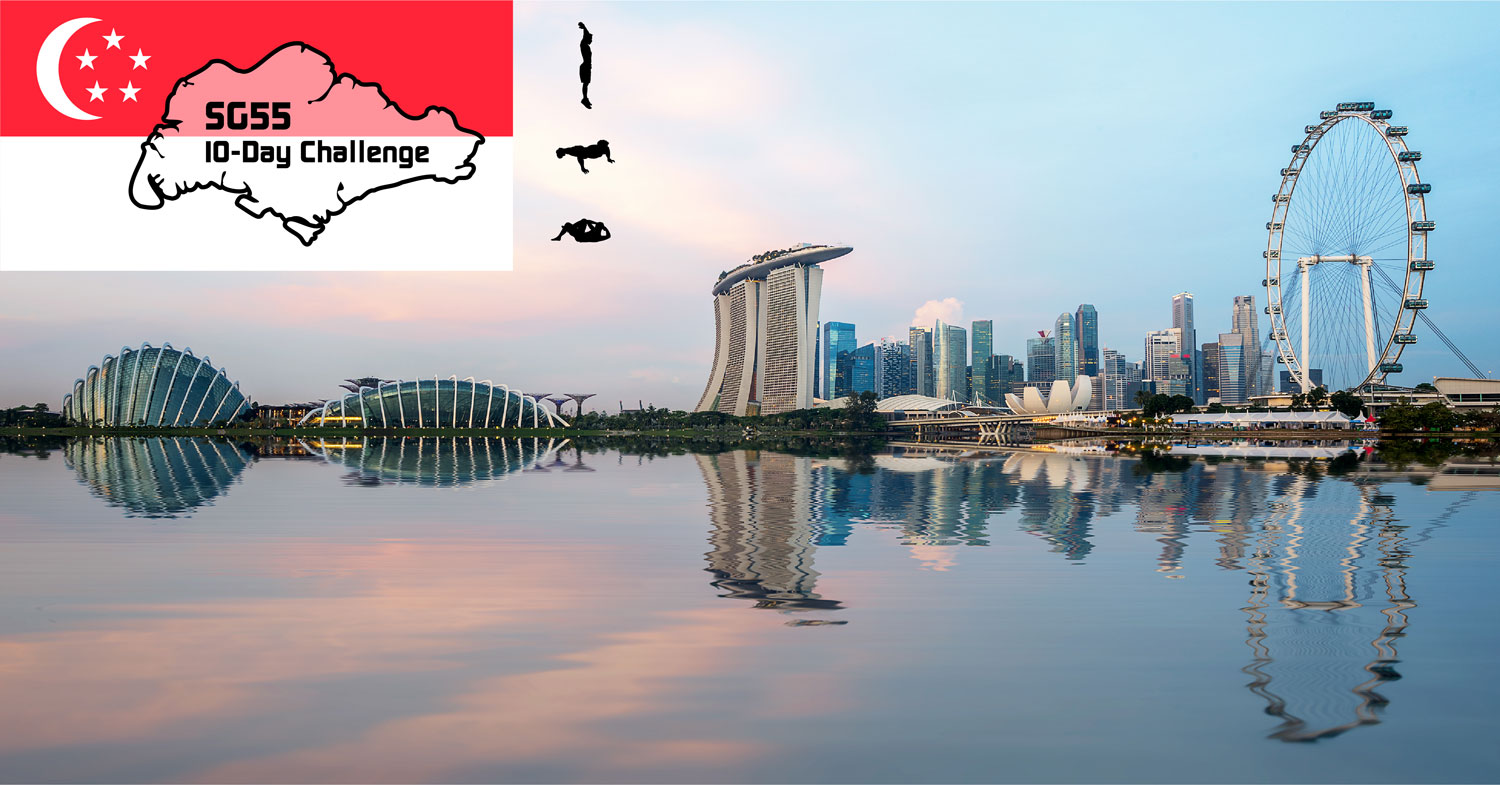 Logo of SG55 10-Day Challenge (Run Edition)
