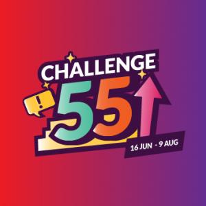 Challenge 55 SG 2020