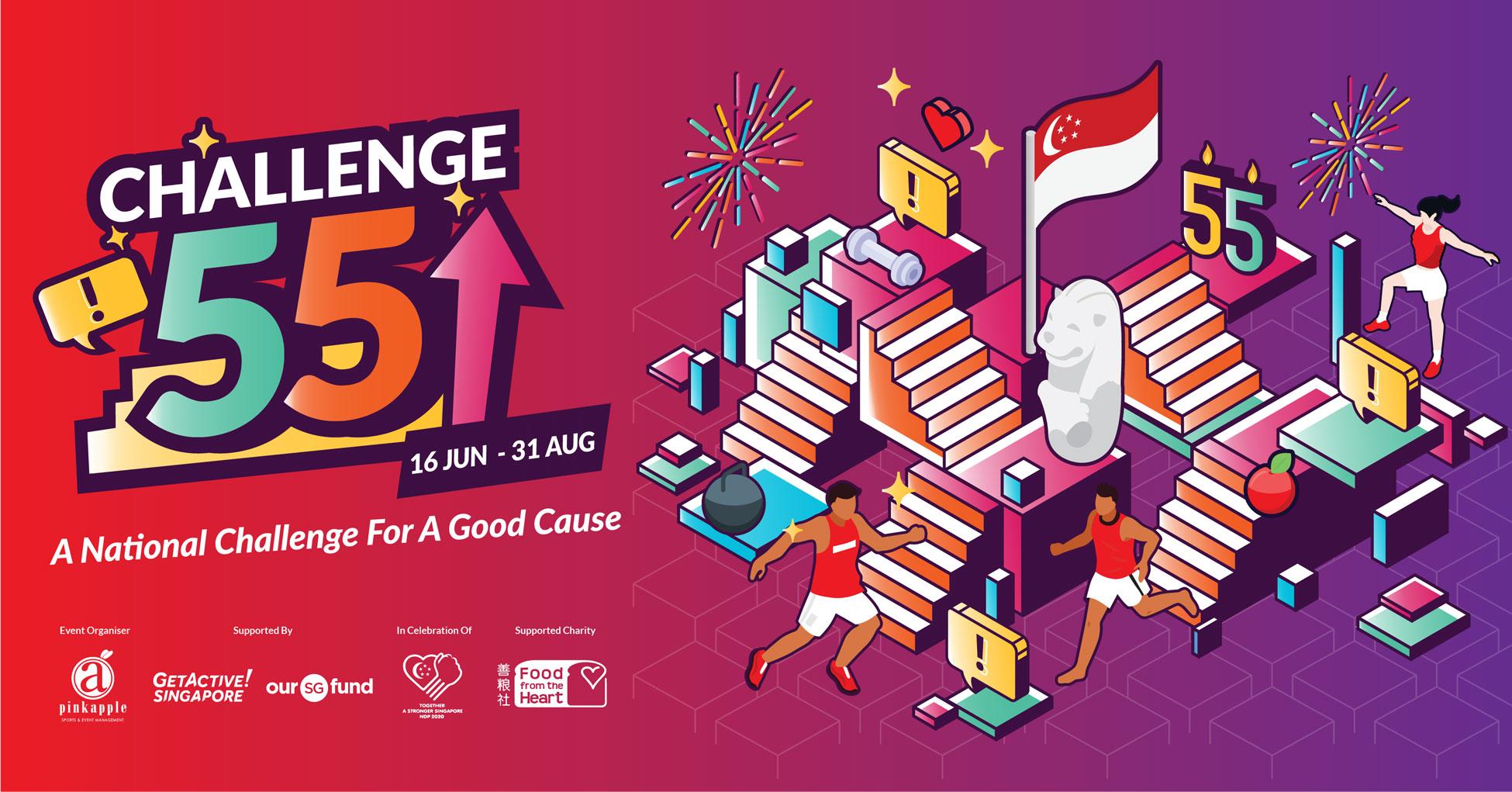 Logo of Challenge 55 SG 2020