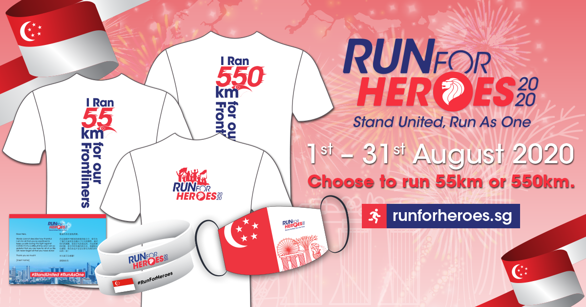 Logo of Run For Heroes 2020