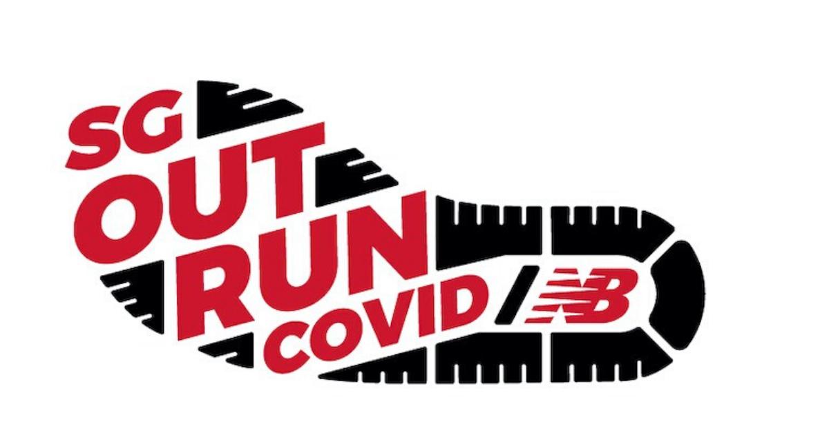 Logo of SGOutrunCovid Virtual Race 2020