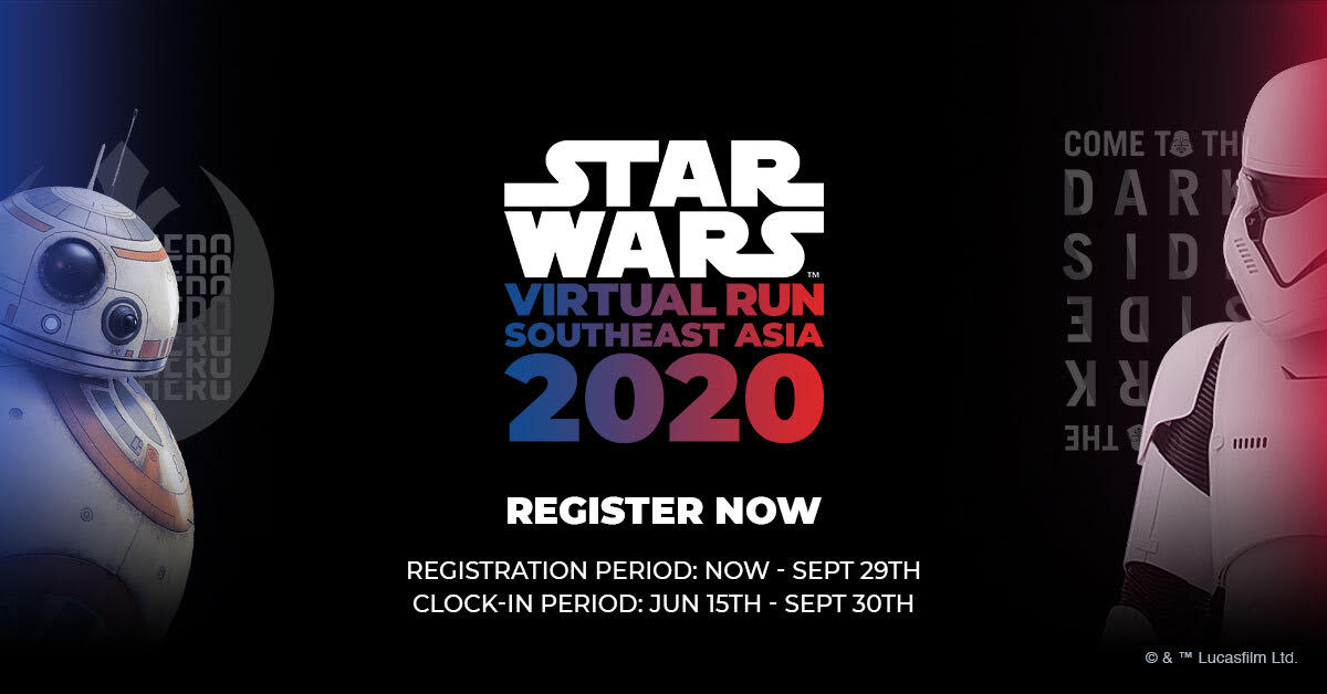 Logo of STAR WARS Virtual Run 2020