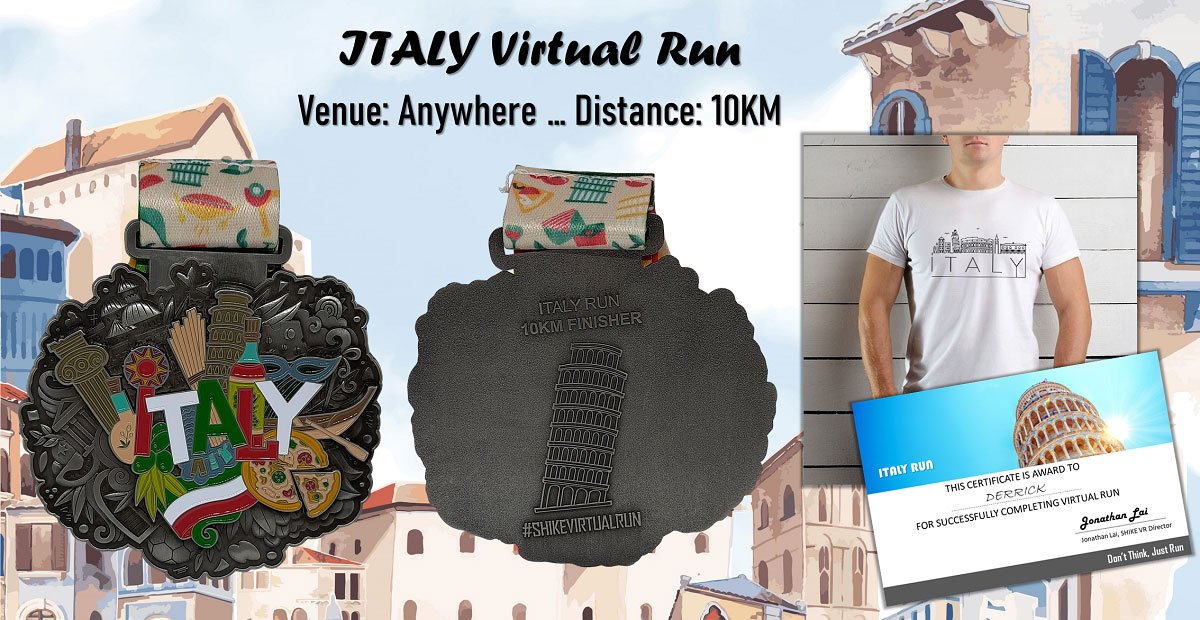 Logo of Italy Virtual Run 2020