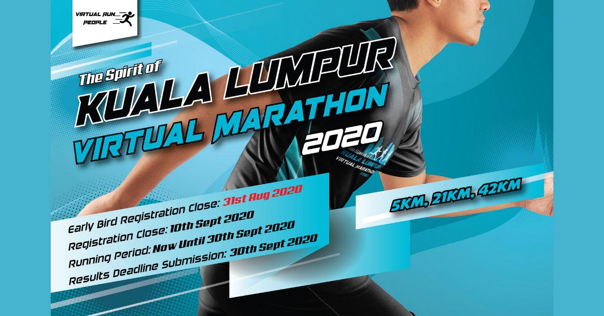 Logo of The Spirit of Kuala Lumpur Virtual Marathon 2020