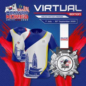 Malaysia Korea Unity Run 2020 Virtual Edition