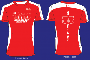 [Virtual] – National Day Run 2020 SG55 Virtual Run