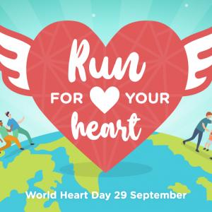 Run For Your Heart Virtual Run 2020