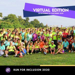 [Virtual] – Run For Inclusion 2020