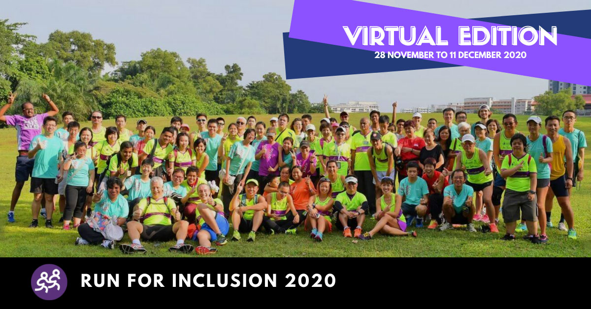 Logo of Run For Inclusion 2020 – Virtual Edition