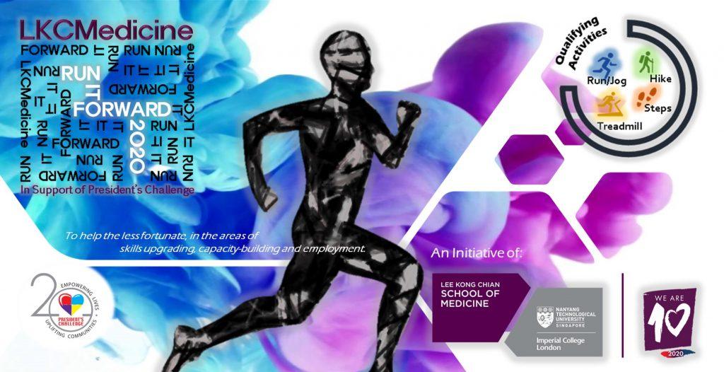 [Virtual] – Run It Forward 2020 with LKCMedicine