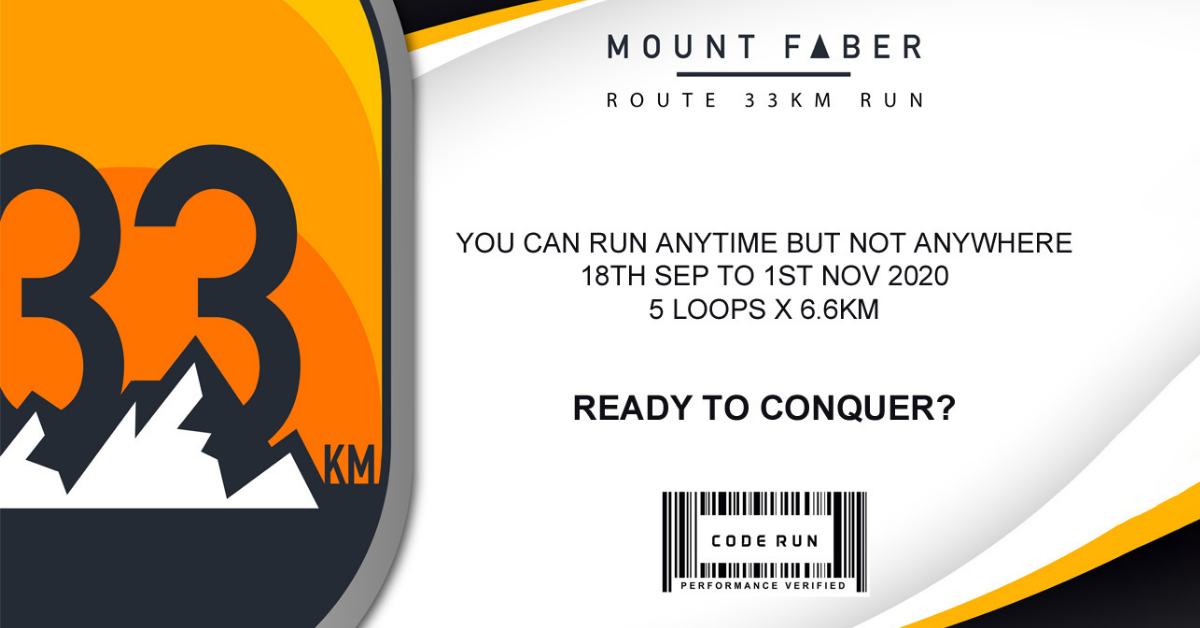 Logo of Mount Faber Route 33KM 2020