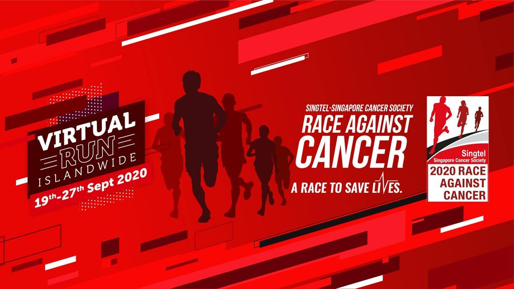 [Virtual] – Singtel – Singapore Cancer Society Race Against Cancer 2020