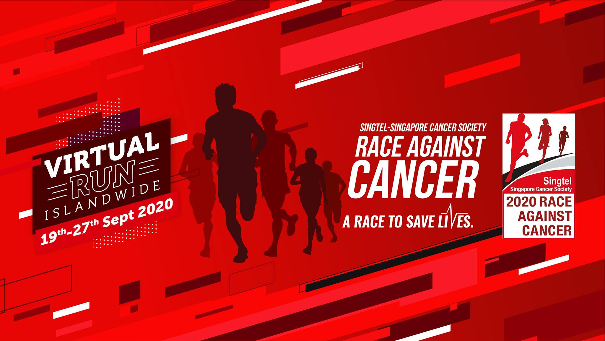 Logo of Singtel – Singapore Cancer Society Race Against Cancer 2020
