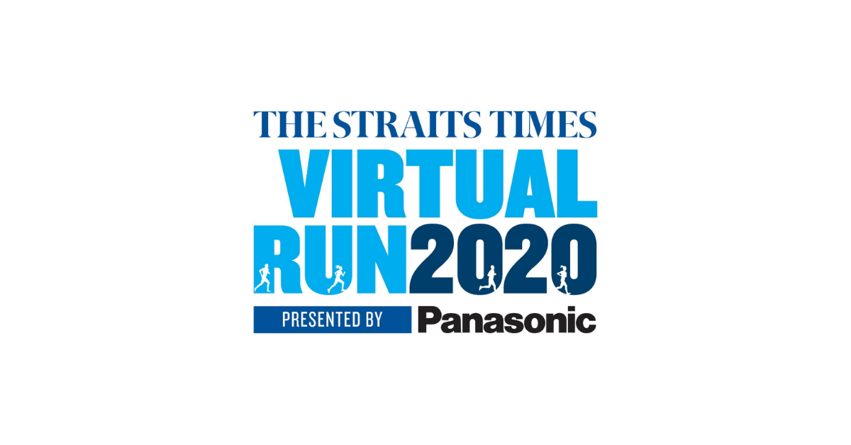 Logo of The Straits Times Virtual Run 2020