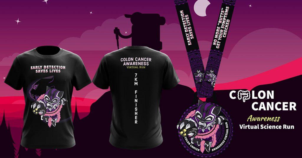 [Virtual] – Colon Cancer Awareness Virtual Run 2020