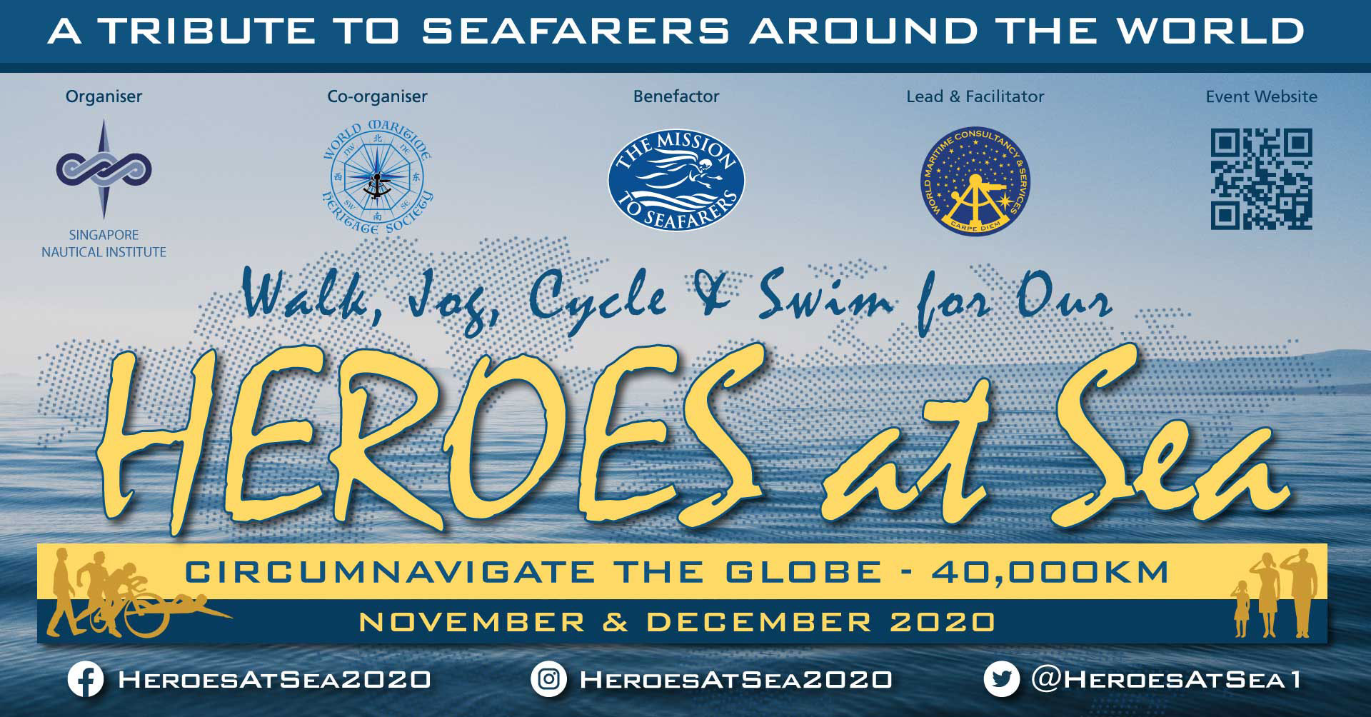 Logo of A Tribute to Seafarers Around the World 2020