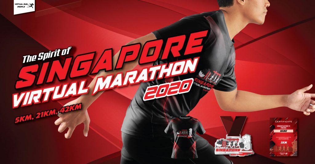 [Virtual] – The Spirit of Singapore Virtual Marathon 2020