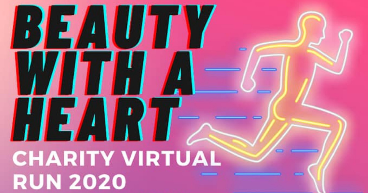 Logo of Beauty With a Heart Charity Virtual Run 2020