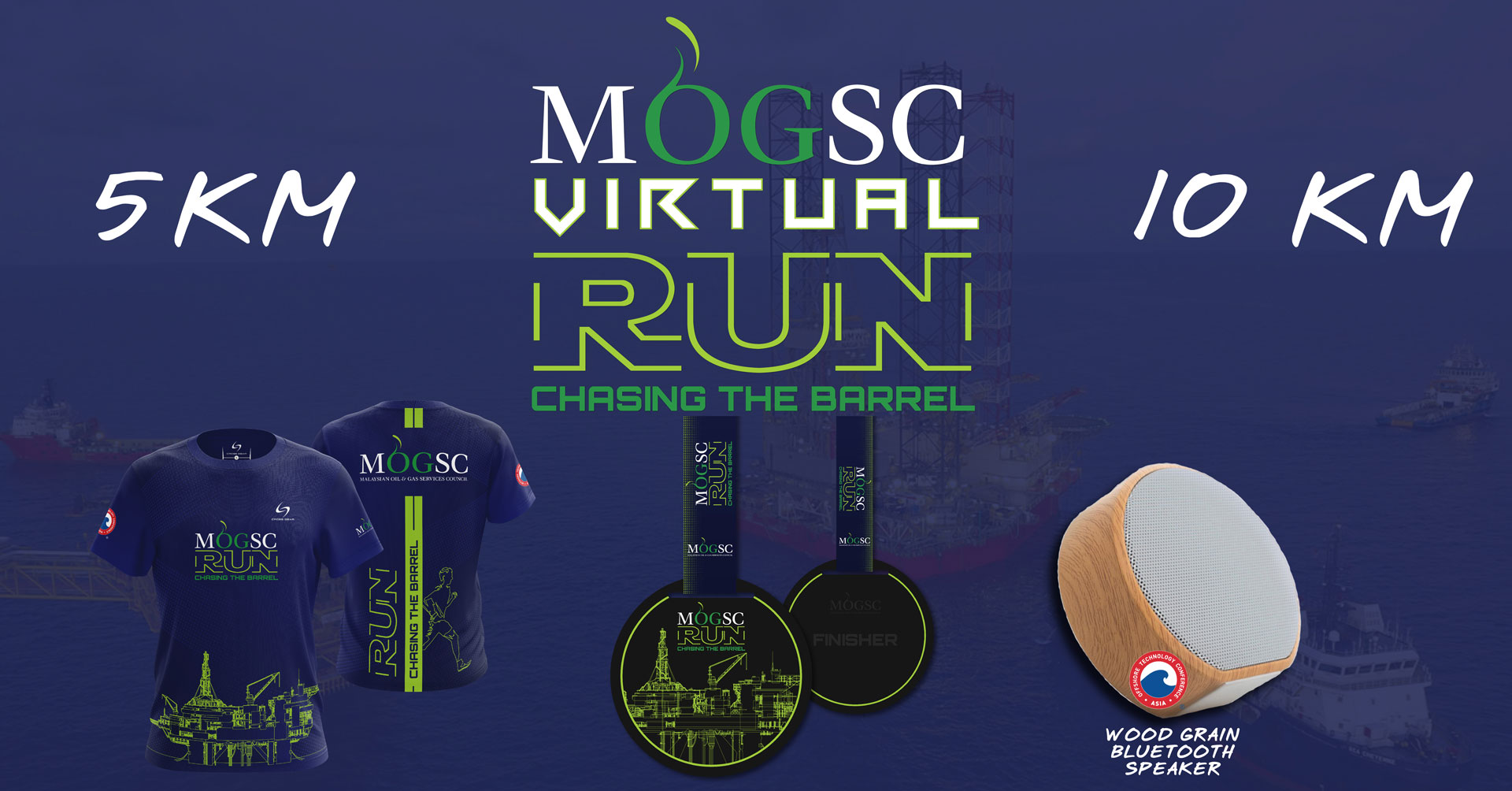 Logo of MOGSC Virtual Run 2020
