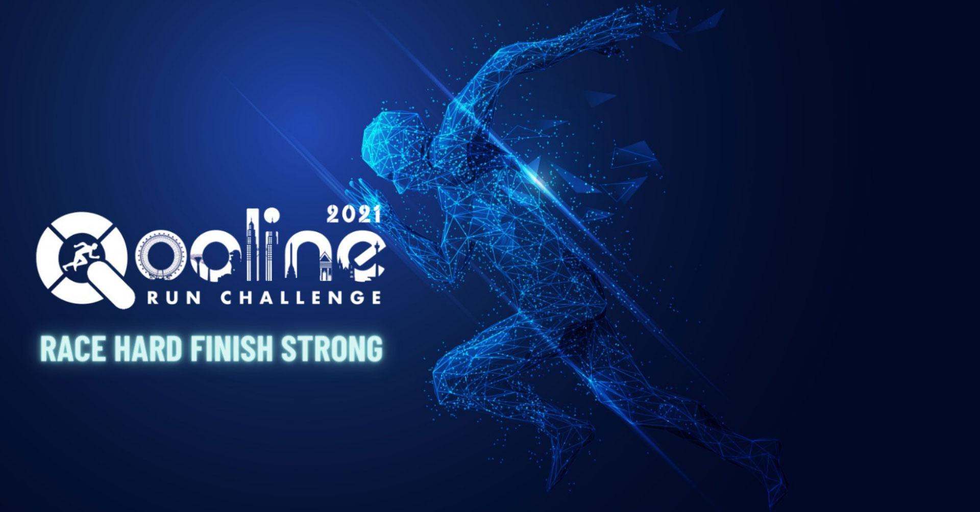 Logo of Qooline Run Challenge 2021 (Quarter 2)