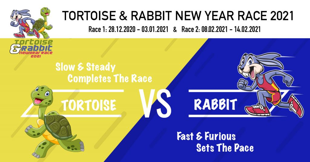 [Virtual] – Tortoise and Rabbit New Year Race 2021 Race 1