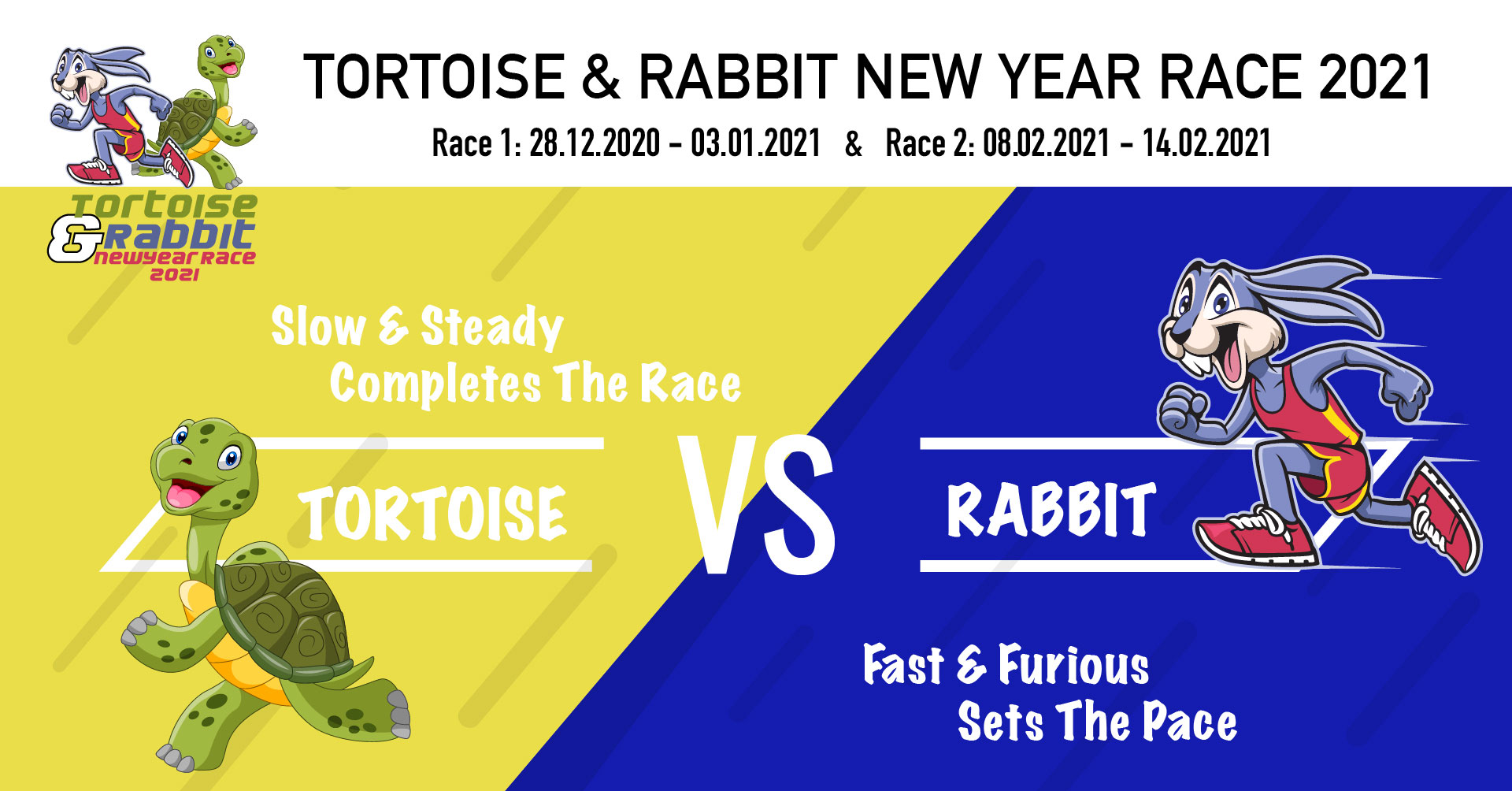 Logo of Tortoise and Rabbit New Year Race 2021 (Virtual Race 1)
