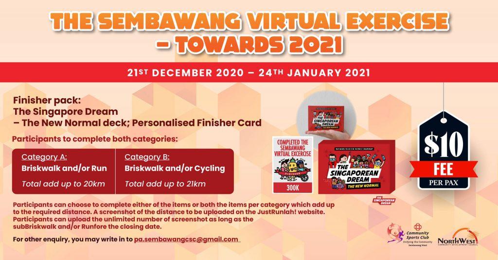 [Virtual] – The Sembawang West Virtual Exercise – Towards 2021