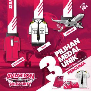 TRD Aviation Solidarity Virtual Run 2020