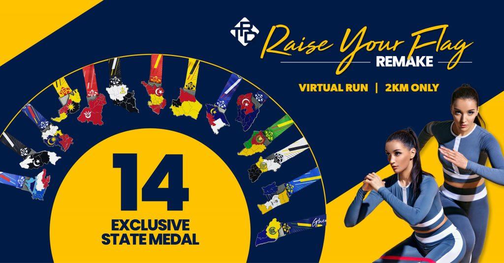 [Virtual] – TRD Raise Your Flag Remake Virtual Run