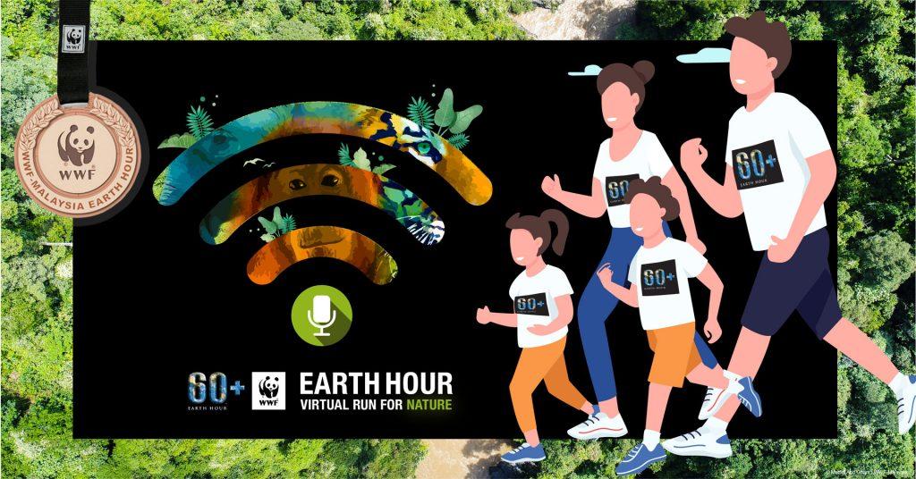 [Virtual] – Earth Hour Virtual Run for Nature