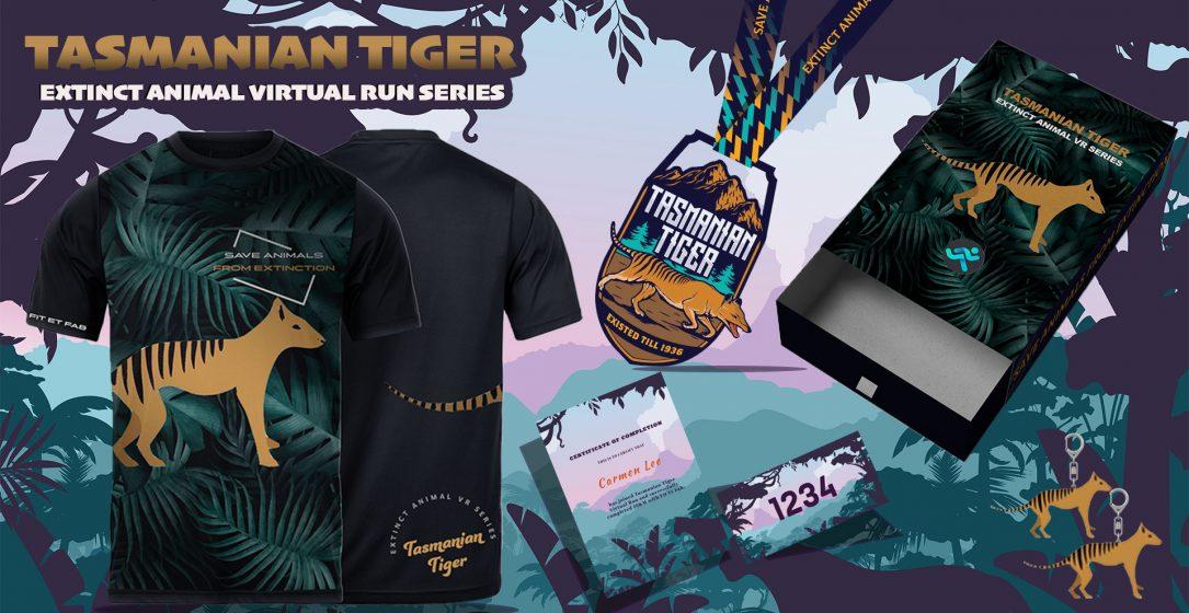 Logo of Tasmanian Tiger Virtual Run 2021