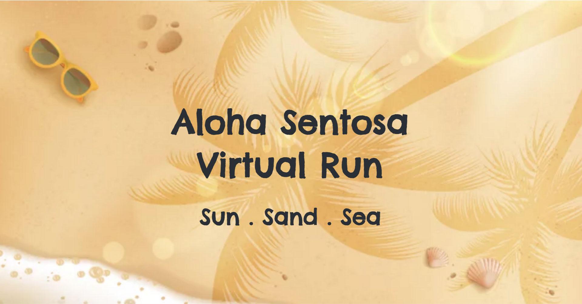 Logo of Aloha Sentosa Virtual Run 2021