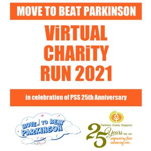 [Virtual] – Move to Beat Parkinson Virtual Charity Run 2021