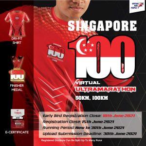 [Virtual] – Singapore 100 Virtual UltraMarathon 2021