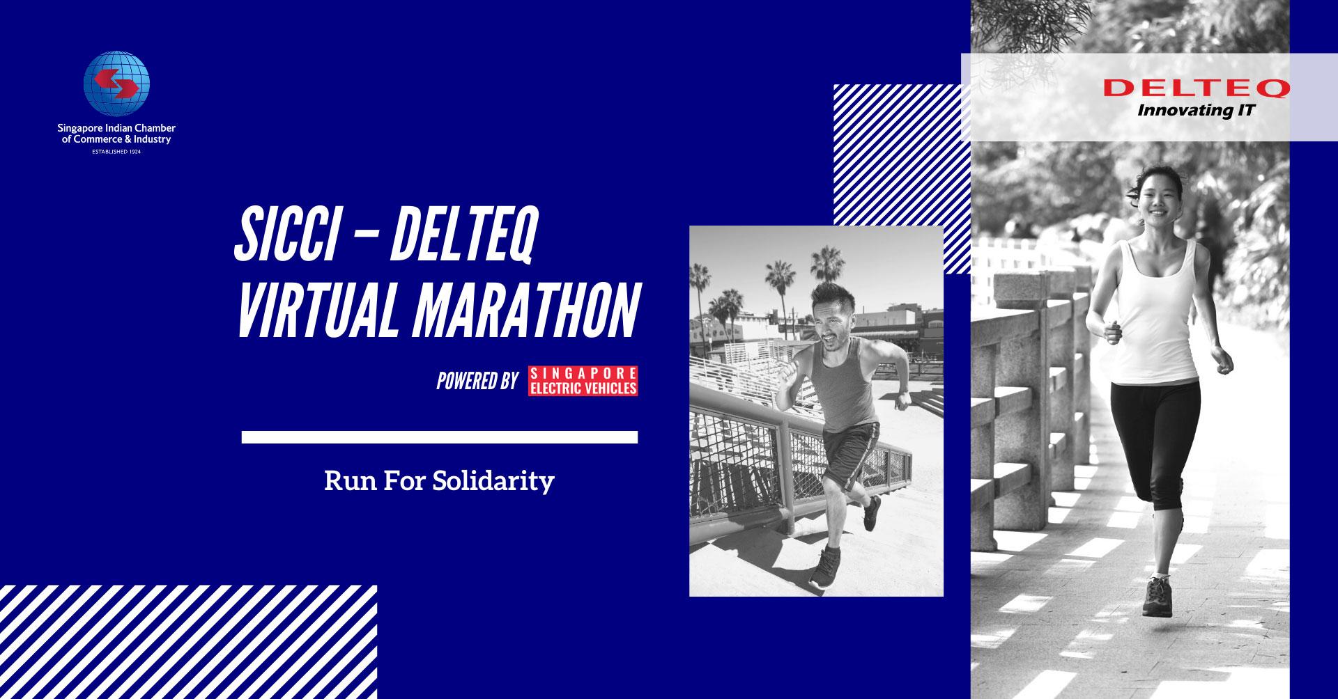Logo of SICCI – Delteq Virtual Marathon 2021