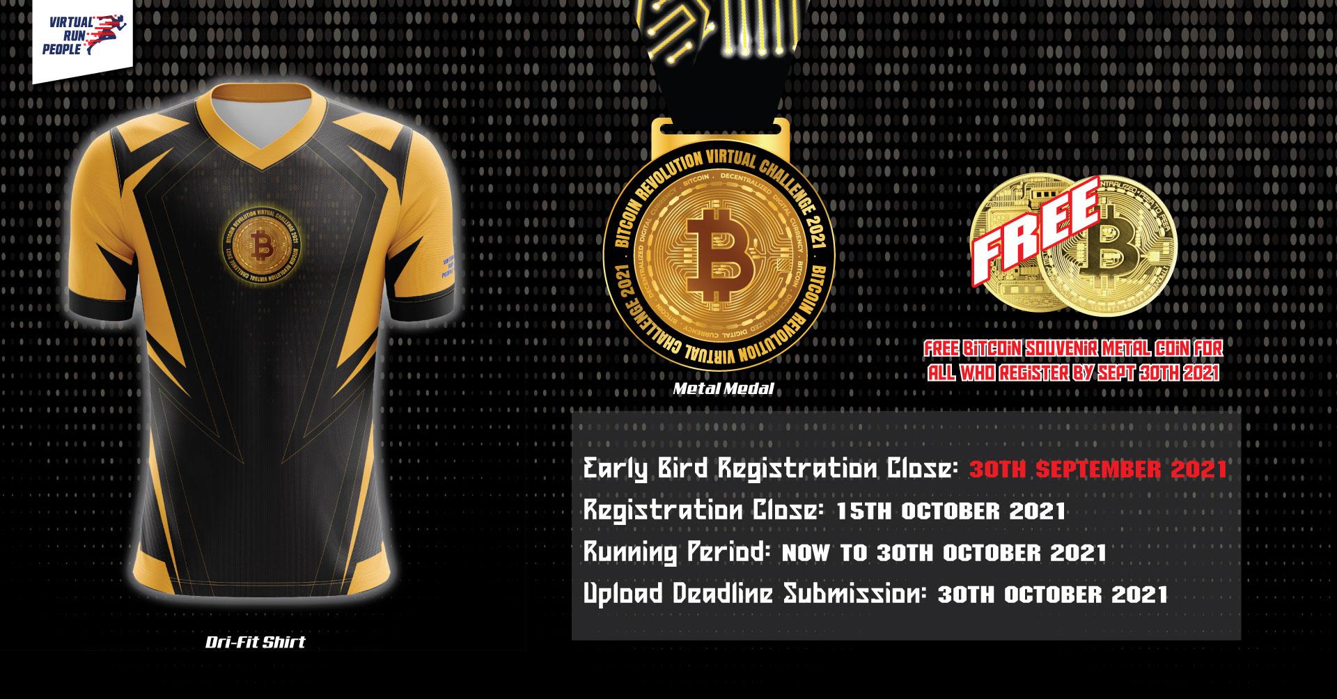 Logo of Bitcoin Revolution Virtual Challenge 2021